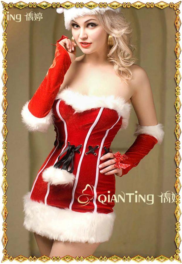 Костюм снегурочки Милое Рождество